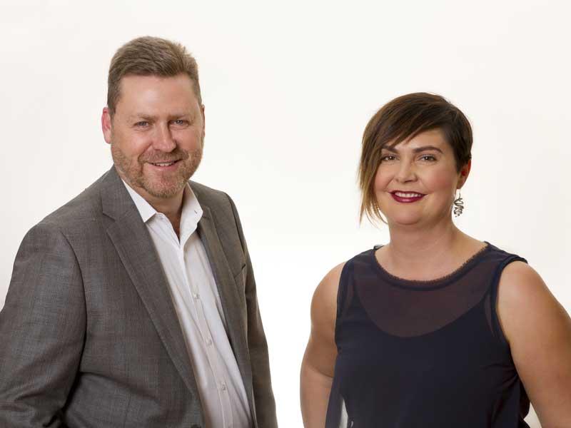 John Farren and Alison McRae